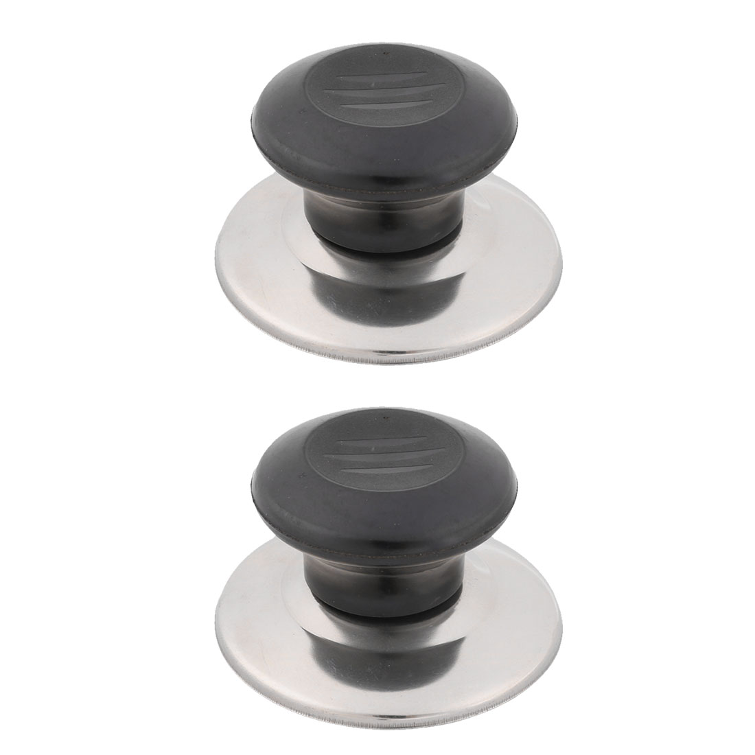 Home Kitchen Cookware Round Cooking Tool Replacement Cover Pan Pot Lid Knob 2 Pcs
