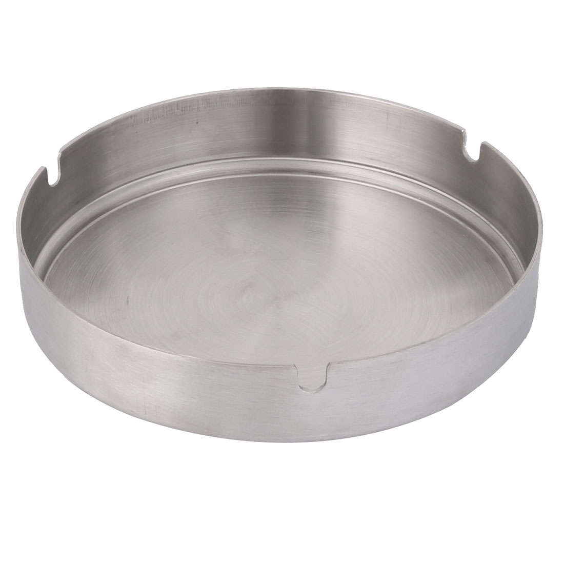 Home Office Metal Cylindrical Shaped Cigarette Holder Ashtray 14cm Dia