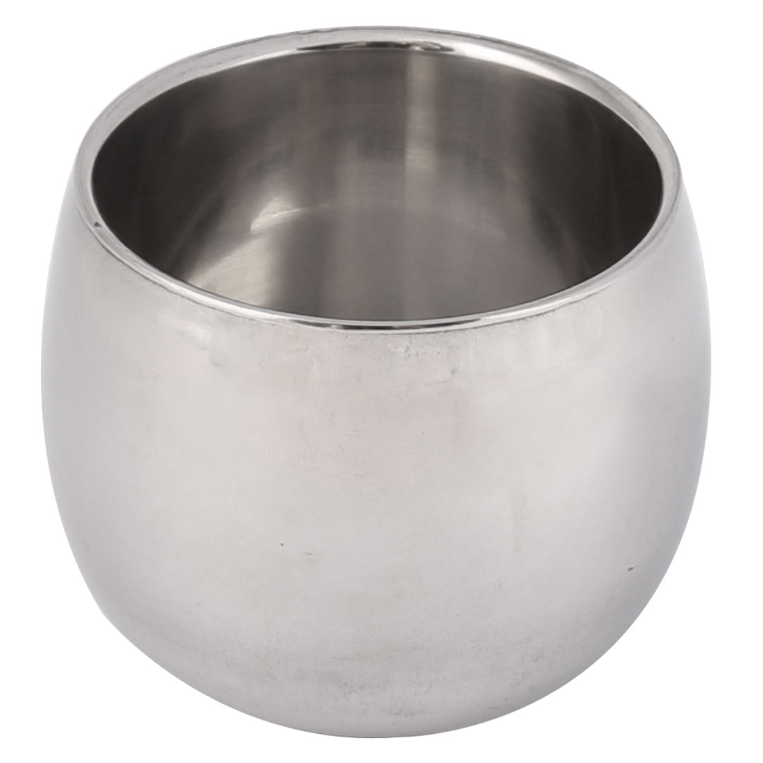 Home Office 304 Stainless Steel Lidless Anti-Scald Water Cup Drink Mug 140ML