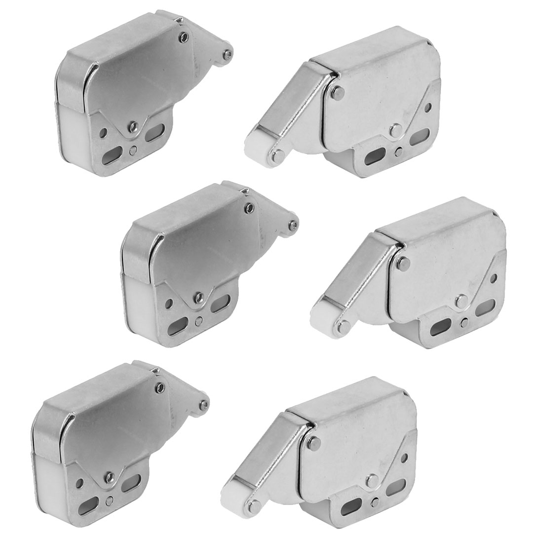 48mmx11mmx28mm Elephant Shaped Wheel Door Catch Lock Touch Push Latches 6pcs