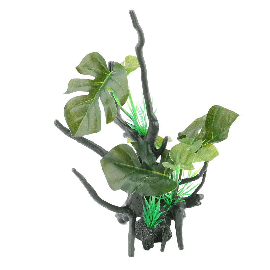 Artificial Decoration Tree Branches Freshwater Fish Tank Aquarium Plant