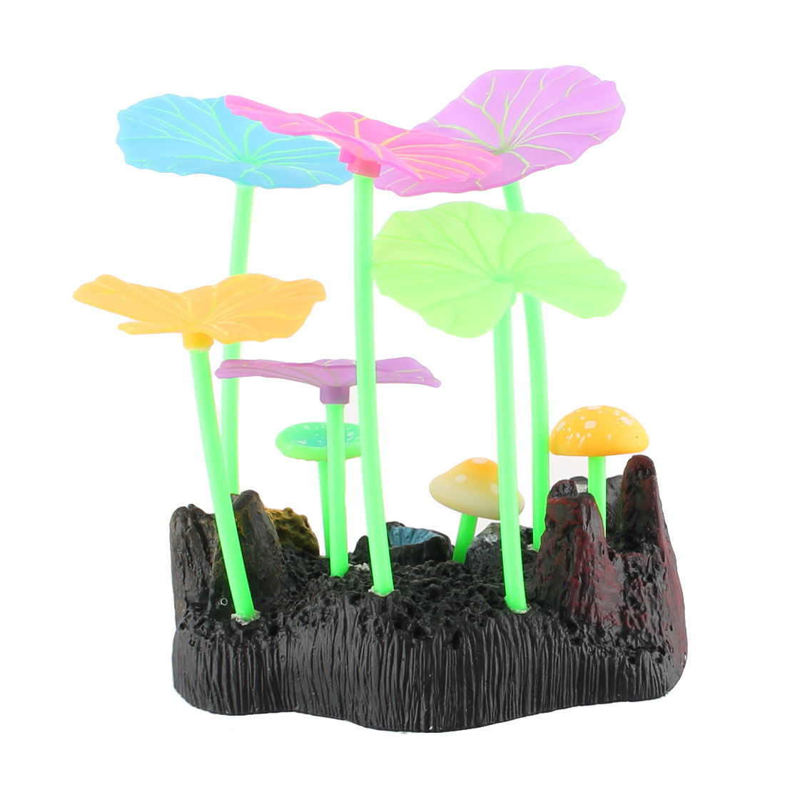 Aquarium Fish Tank Artificial Emulation Landscape Plant Decoration Colorful