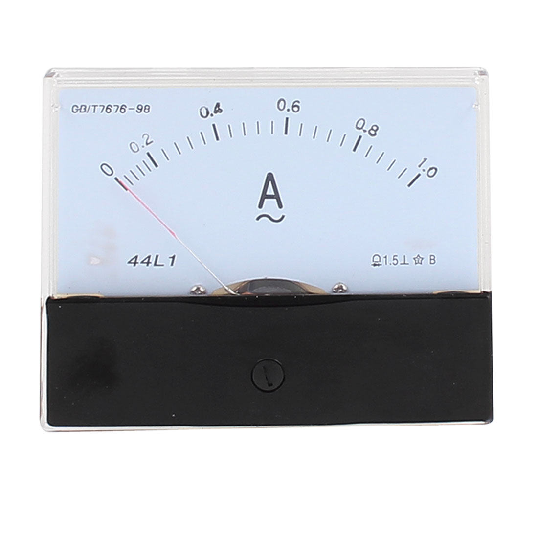 44L1 Pointer Needle AC 0-1A Current Tester Panel Analog Ammeter 100mm x 80mm