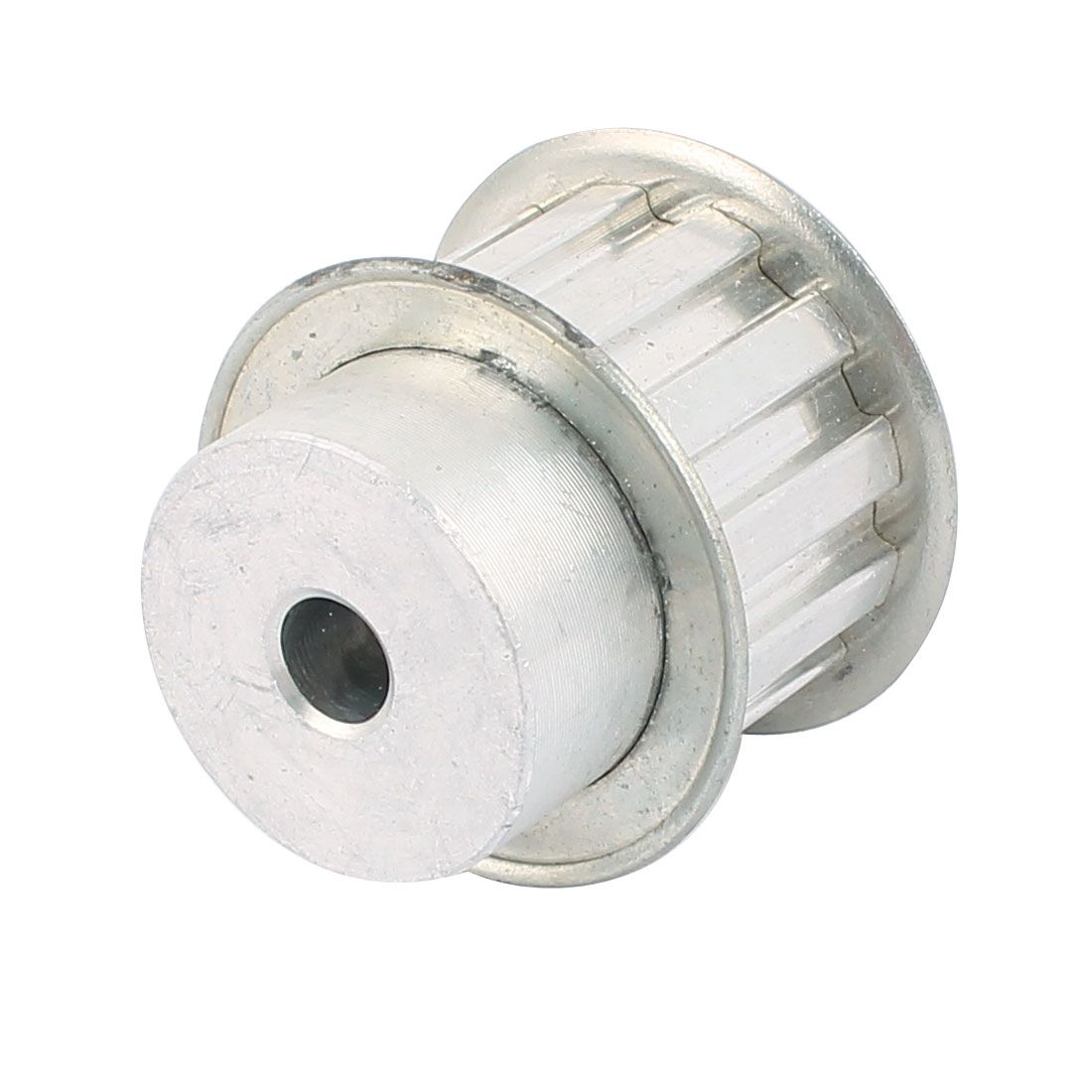 XL12 22mm Belt Width 8mm Bore 12 Teeth Synchronous Timing Pulley Silver Tone