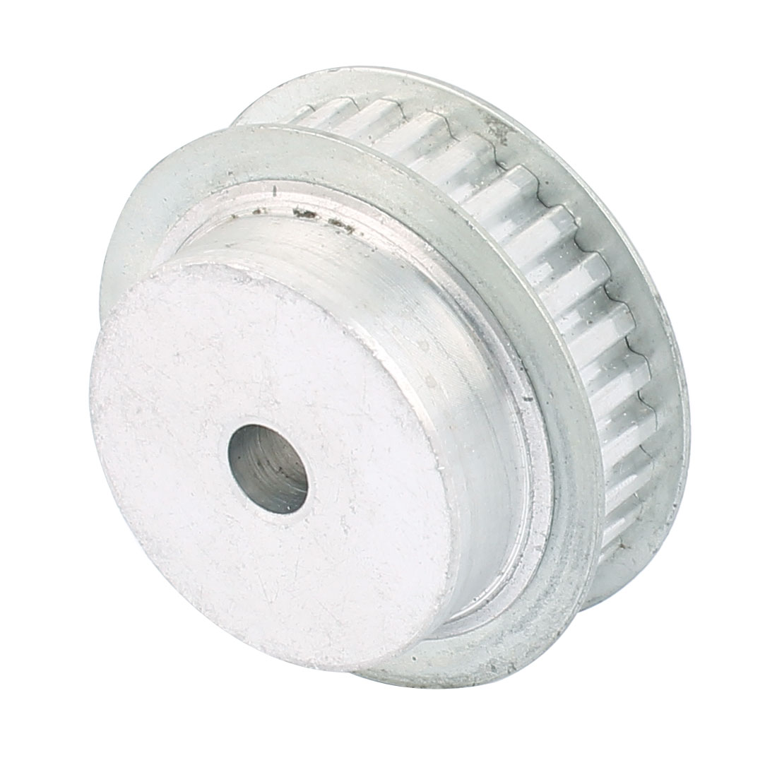 XL30 11mm Belt Width 8mm Bore 30 Teeth Synchronous Timing Pulley Silver Tone