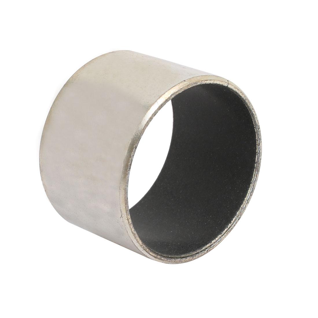 40mm x 30mm Self-lubricating Composite Bearing Bushing Sleeve Silver Tone
