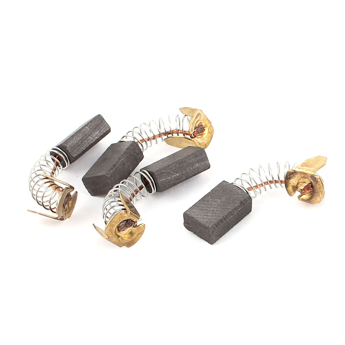 4 Pcs Electric Motor Carbon Brushes 12 x 8 x 5mm for Power Tool
