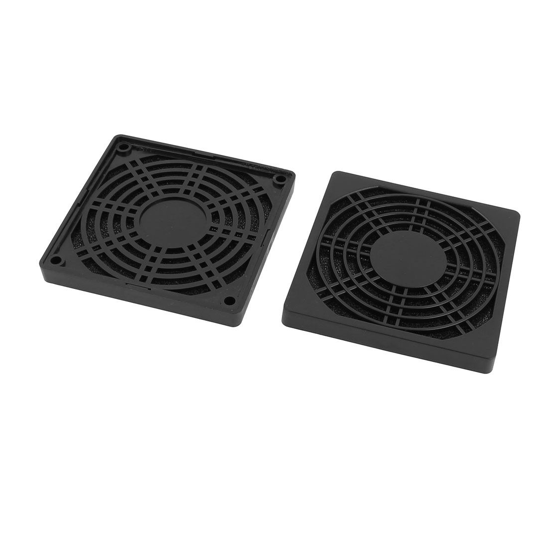 2Pcs Computer Case Fan Dustproof Mesh Filter Dust Guard 96mmx96mmx10mm
