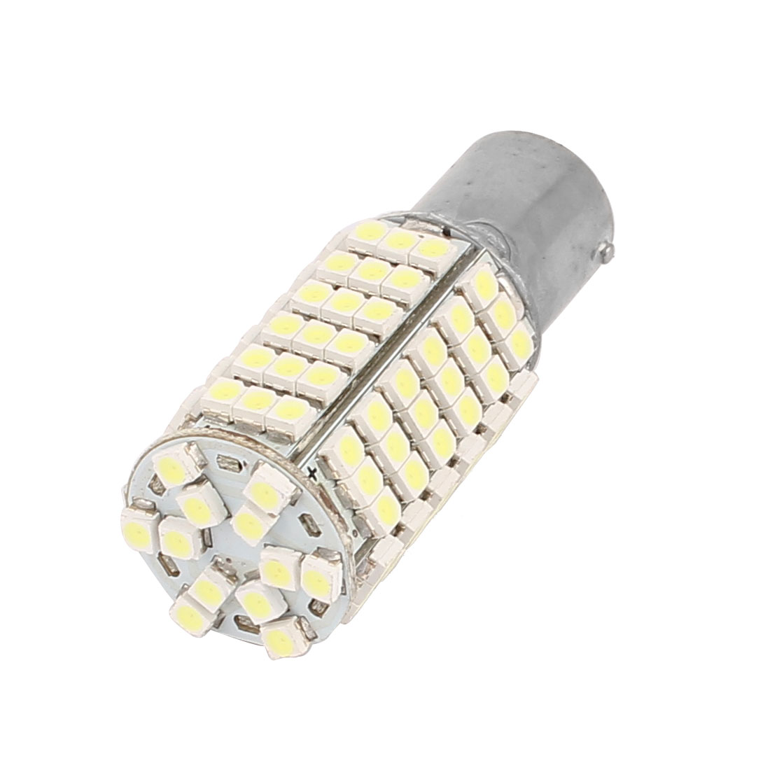 White 120-SMD 1156 1210 LED Car Rear Turn Signal Light Bulb internal