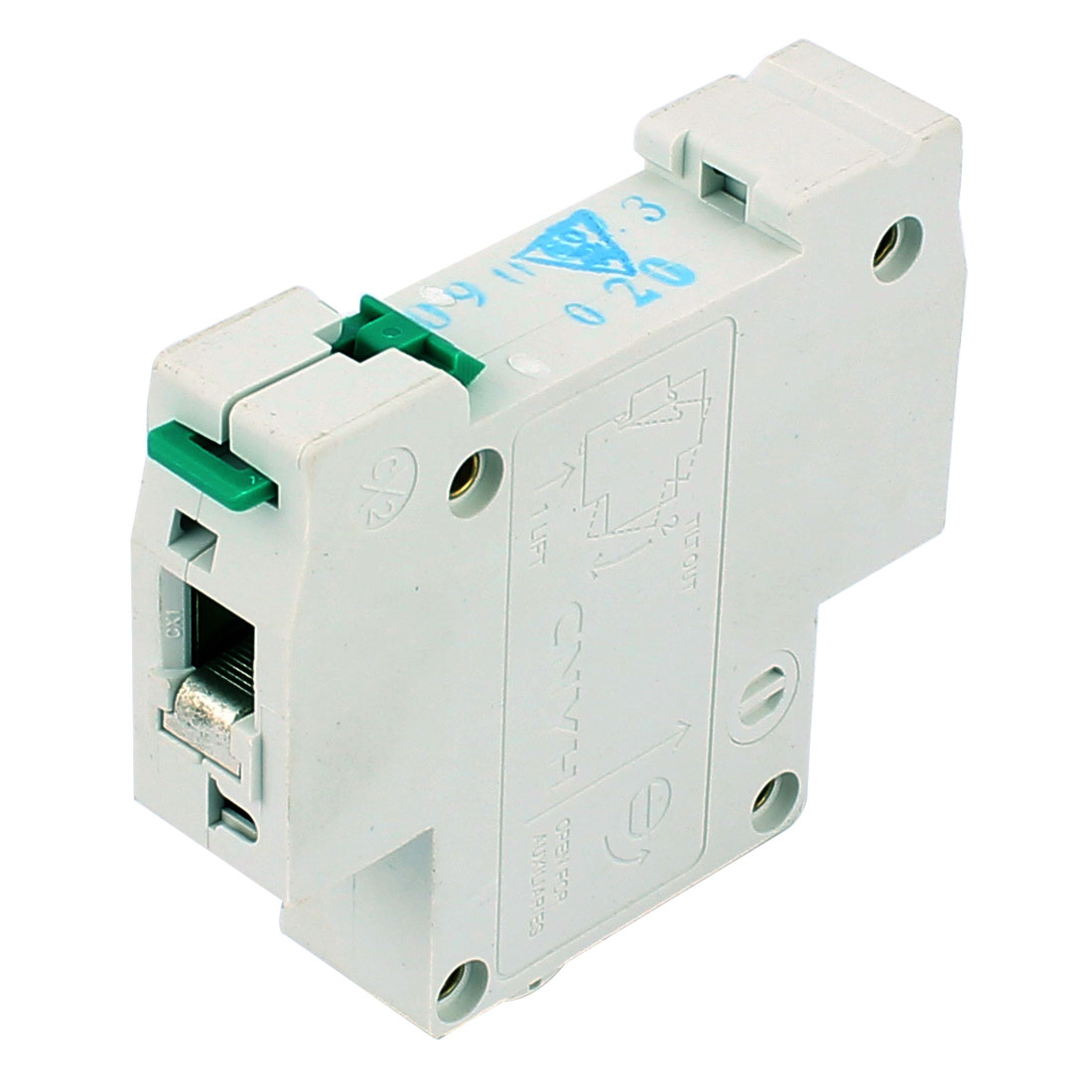 AC 230V/400V 20A 4500A One Pole Overload Protection Miniature Circuit Breaker