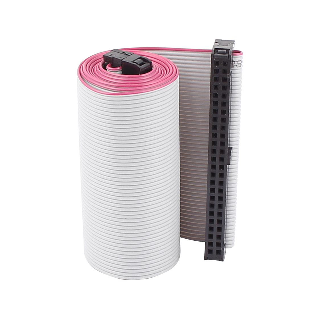 2.54mm Pitch 50 Pin 50 Wire Female to Female IDC Flat Ribbon Cable 66cm Long
