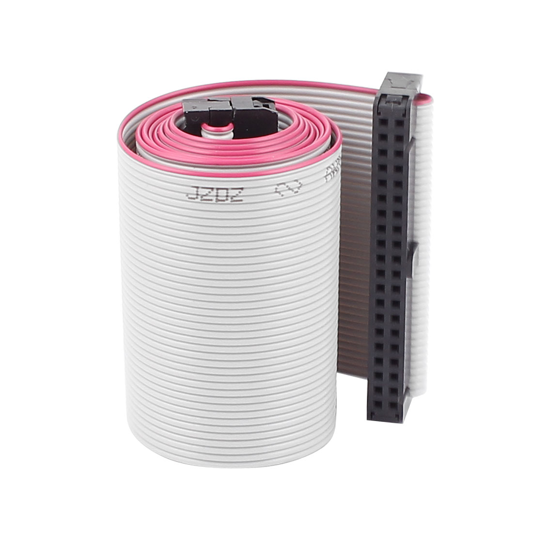 2.54mm Pitch 40 Pins 40 Wires F/F IDC Connector Flat Ribbon Cable 66cm Long