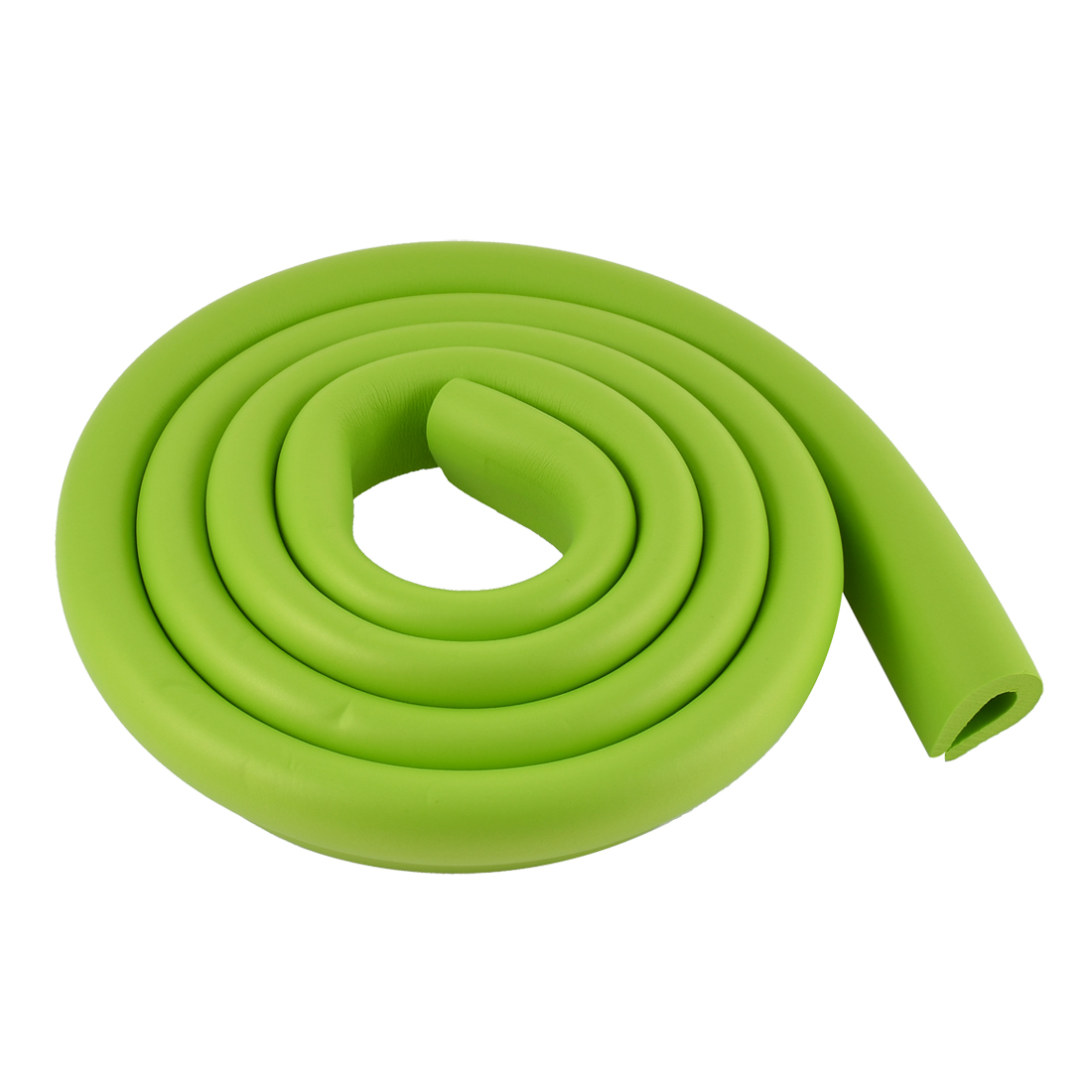 Furniture Corner Edge Soft Safety Protection Cushion Guard 35mm x 8mm Green