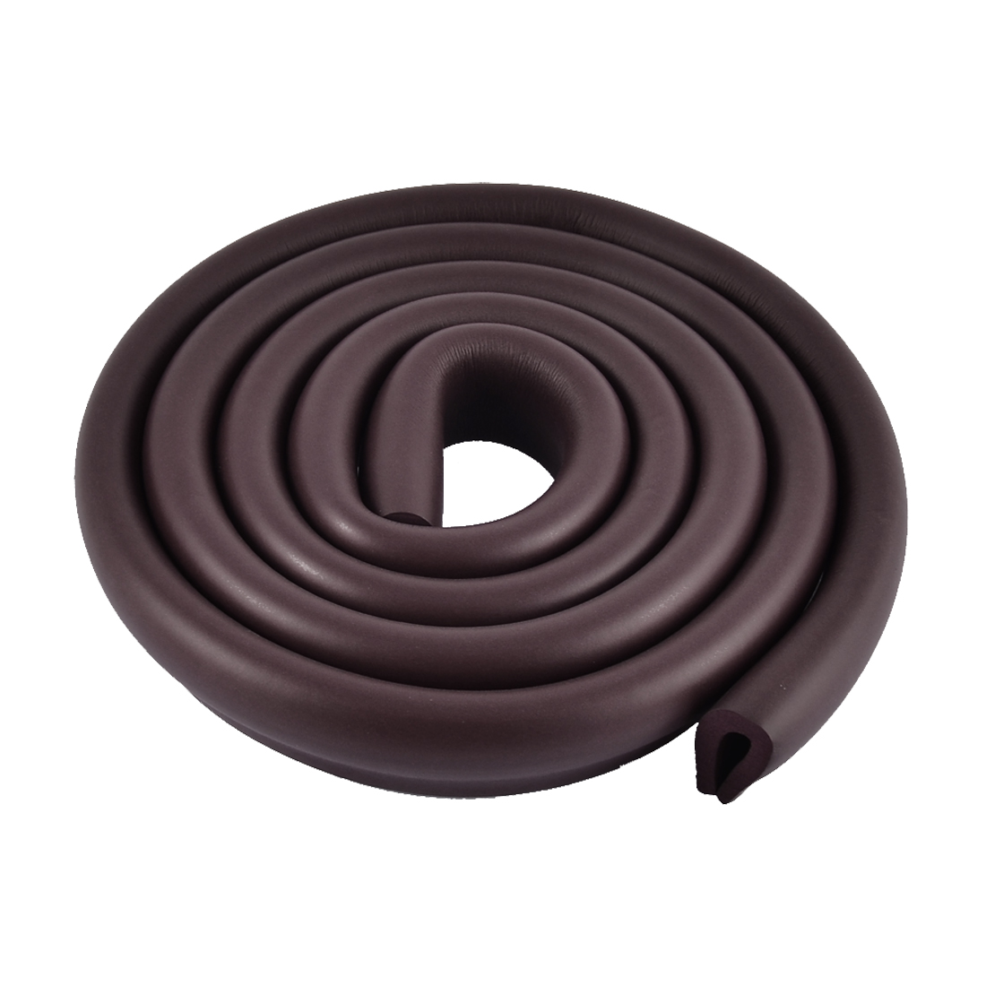 Table Corner Edge Softener Safety Protection Cushion Guard 35mm x 8mm Dark Brown