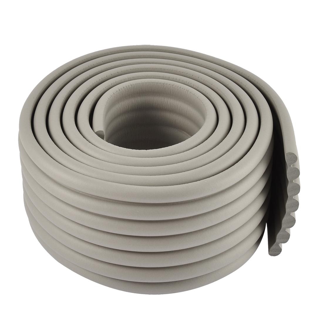 Furniture Corner Edge Safety Protection Cushion Guard 2M Long Gray