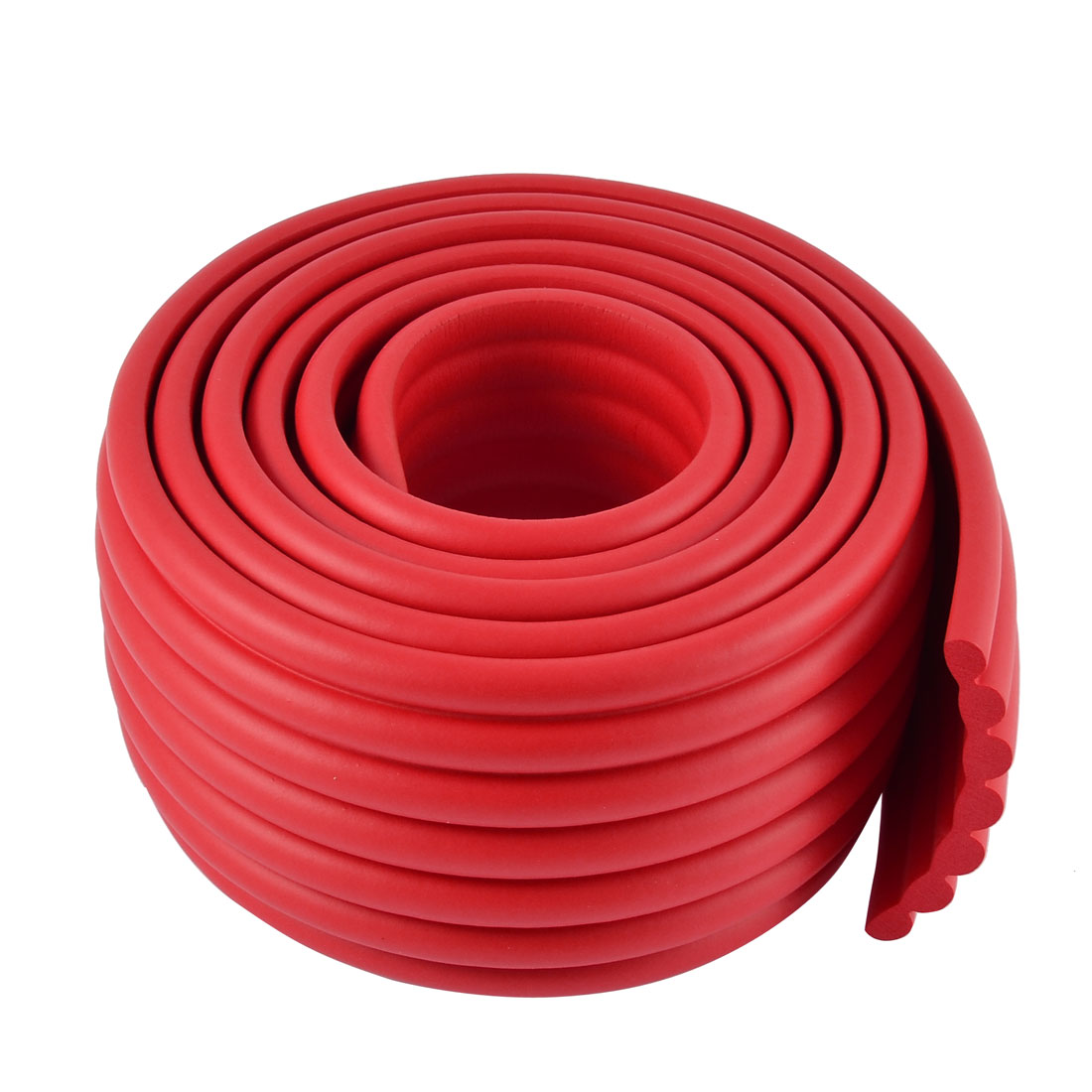 Furniture Corner Edge Safety Protection Cushion Guard Red w Adhesive Tape