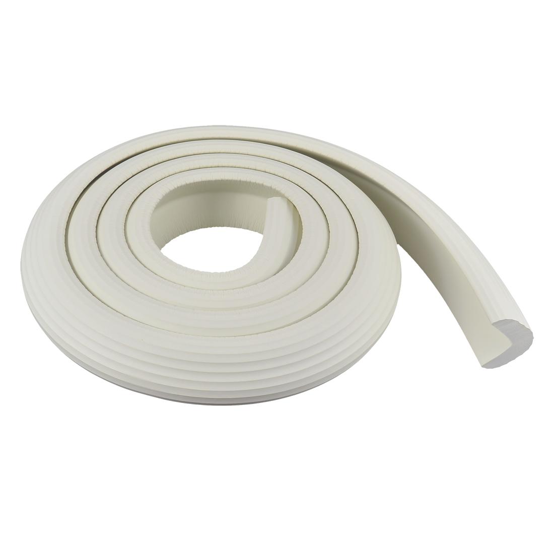 Furniture Corner Edge Soft Safety Protection Cushion Guard 2M White