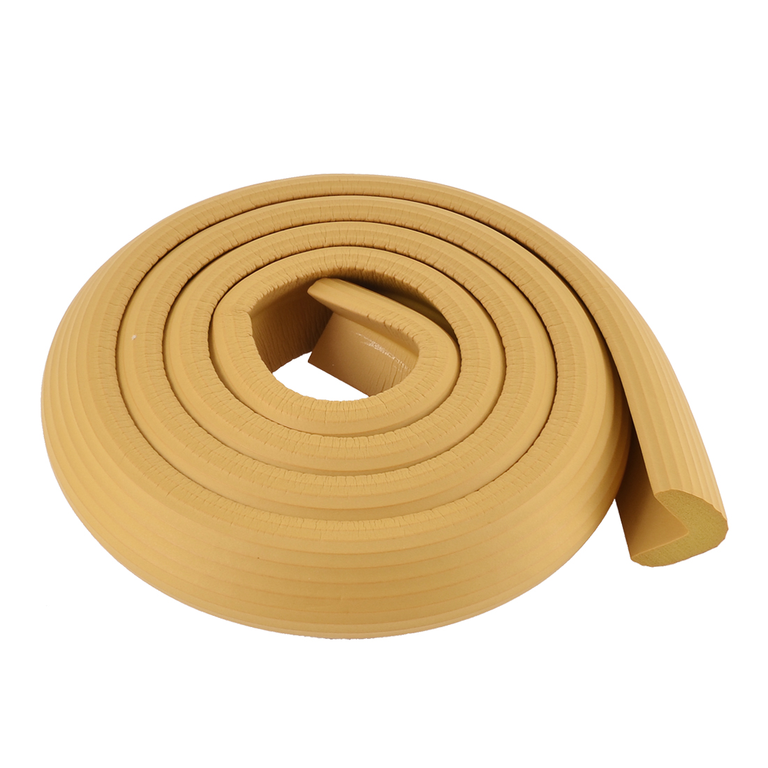 Table Corner Edge Soft Protection Cushion Guard 2M Wood Color
