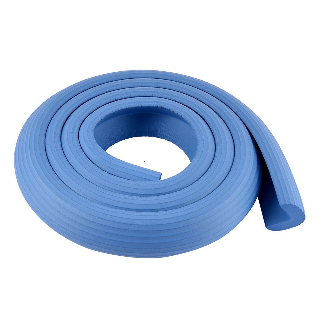 Furniture Corner Edge Soft Safety Protection Cushion Guard Sky Blue