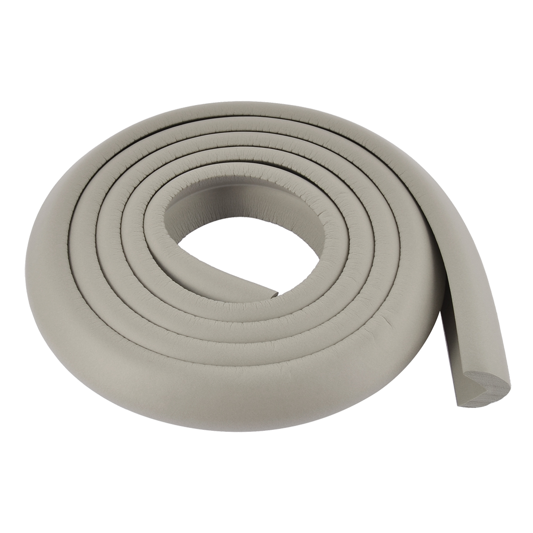 Furniture Table Corner Edge Guard Protector Cushion 2M Long Gray