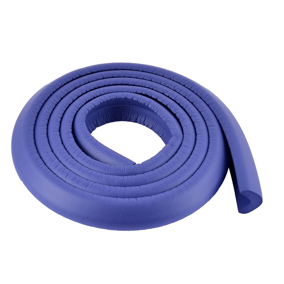 Furniture Table Corner Edge Softner Guard Protector Cushion 2M Long Blue