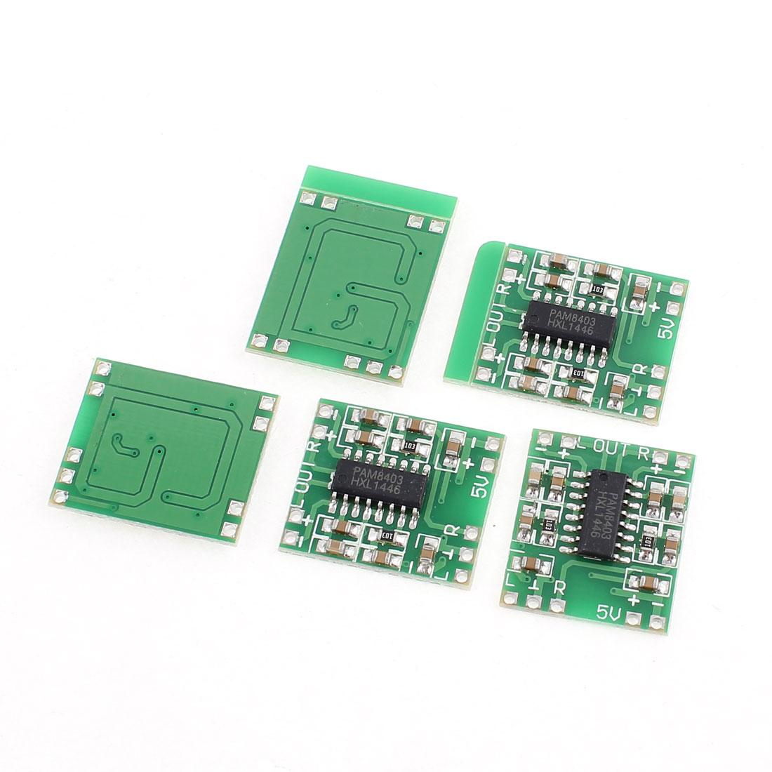 5 Pcs Tiny Micro Type Digital Power Apply Amplifier Module Board