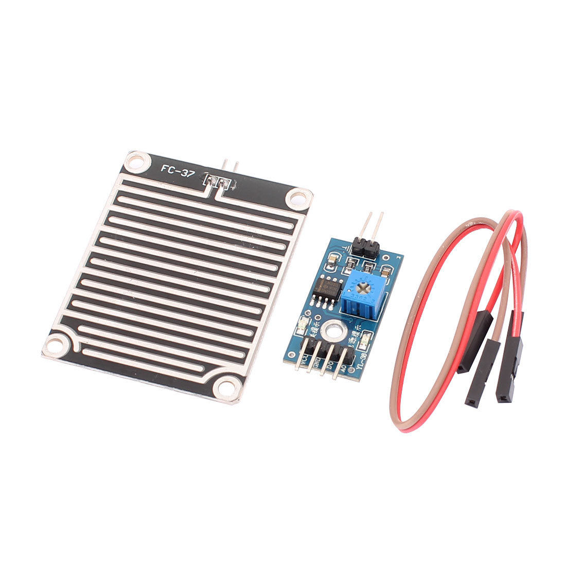 Raindrops Detection Sensor for Arduino Weather Module Humidity Detect Kit