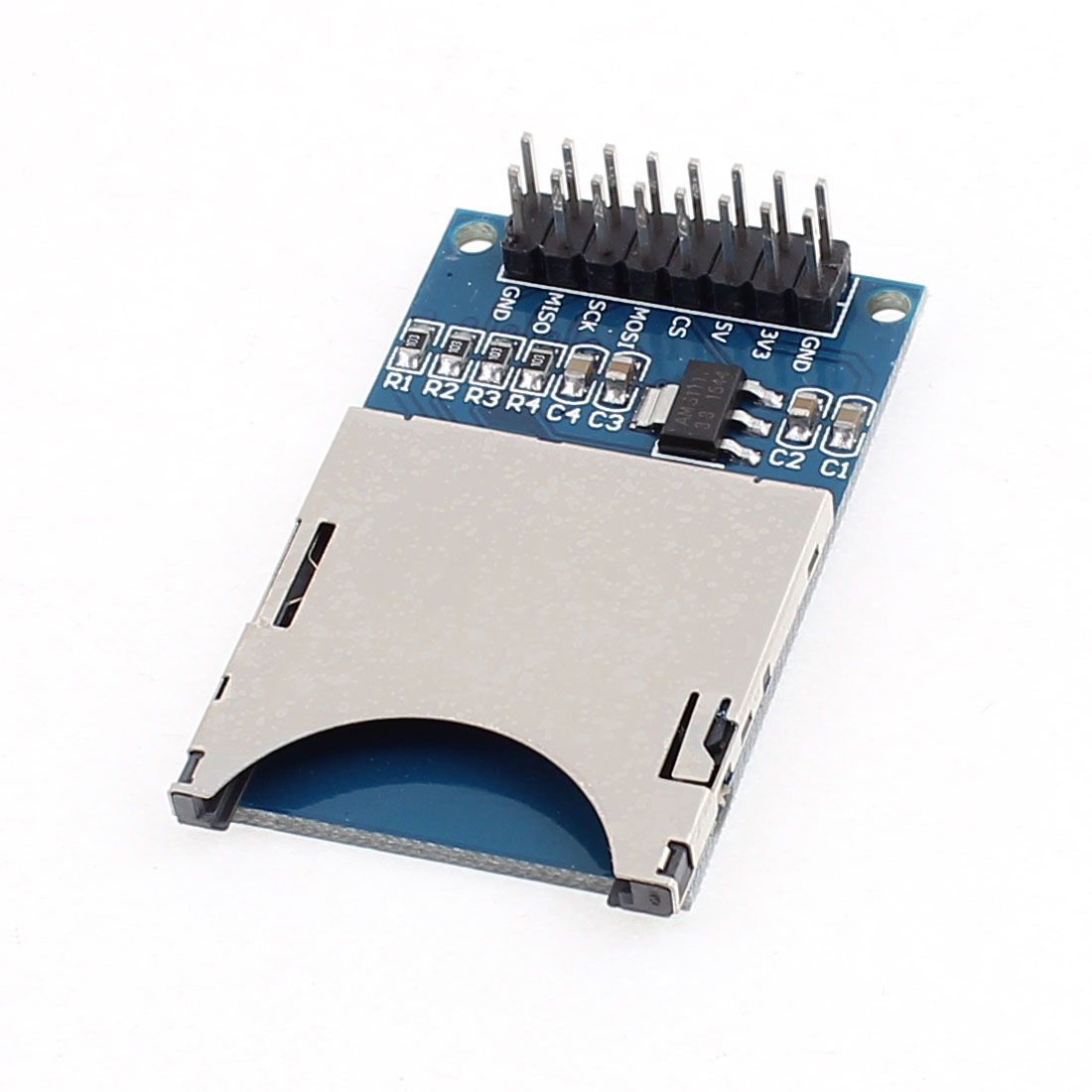 SD Card Read and Write Module for ARM Micro Control Units Slot Socket