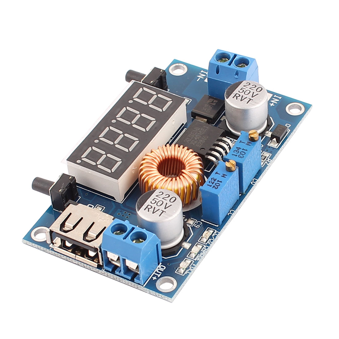 5A Constant Voltage and Constant Current Step Down Modules with Shell