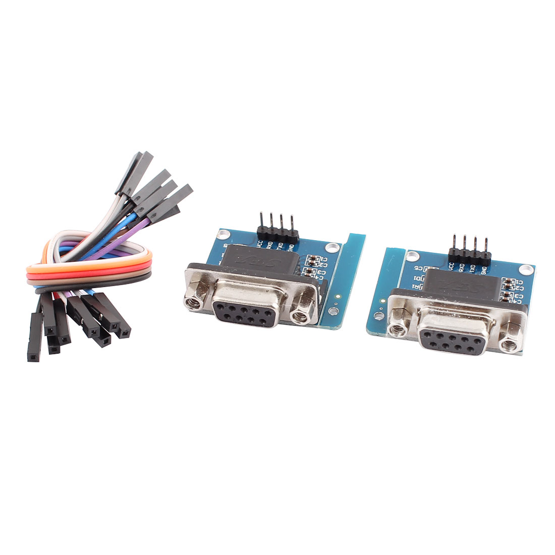 2 Pcs RS232 Serial Port to TTL Converter Transfer Module 2.0