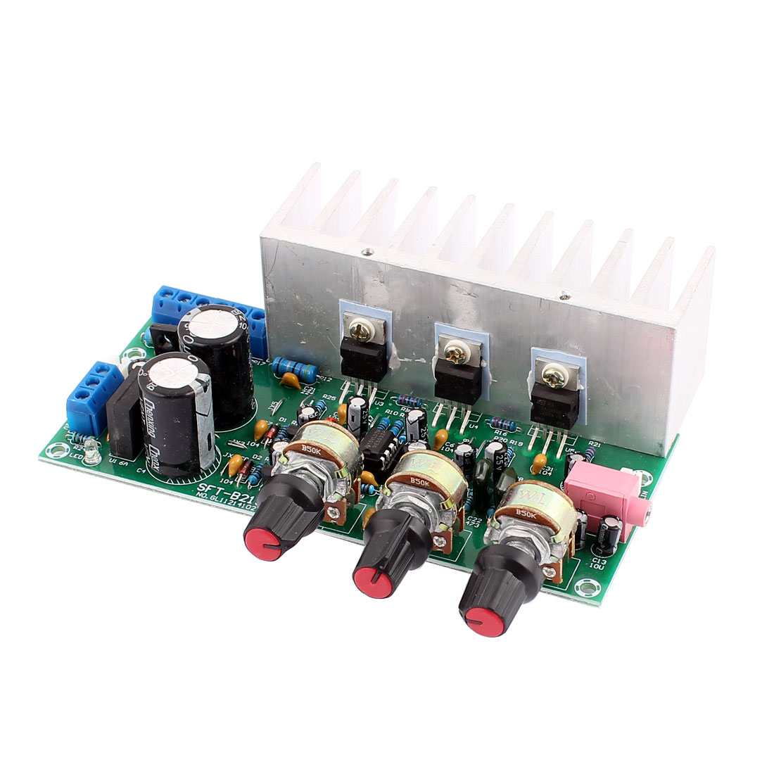 AC 12V SFT-B219 Subwoofer Audio 3 Channel Stereo Power Amplifier Board