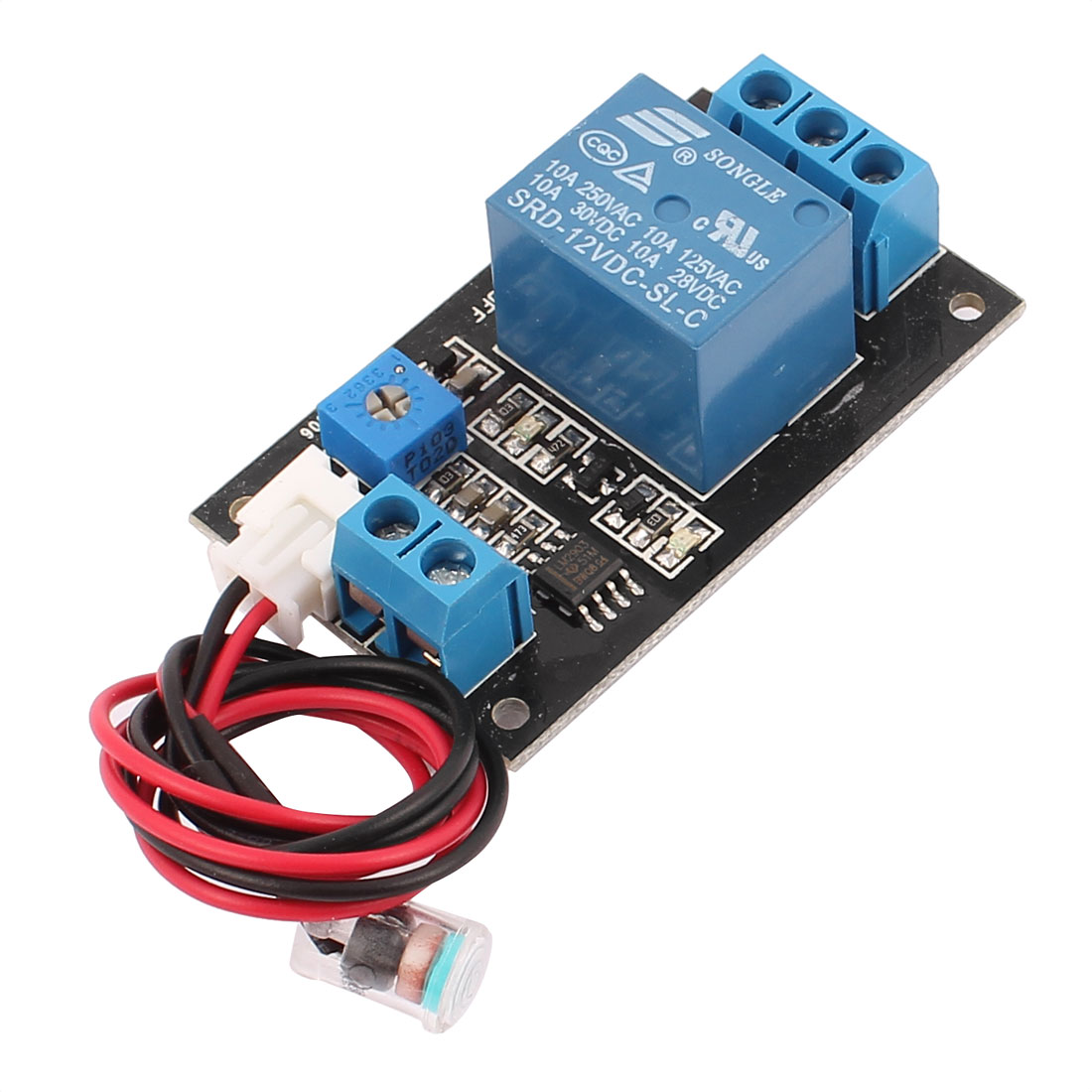 SRD-12VDC-SL-C No-light Activated Light Sensor Detector Module Board