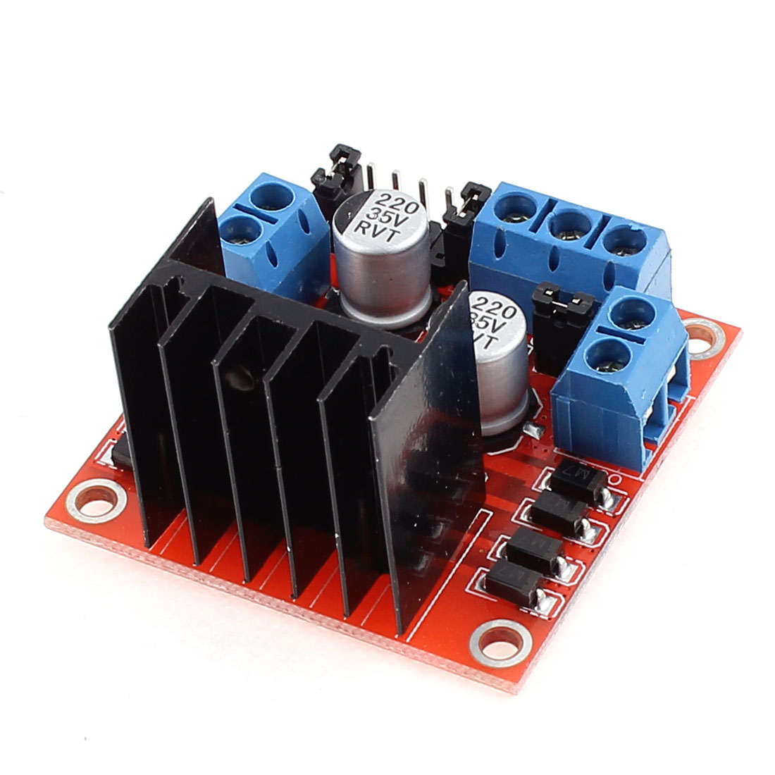 Microcontroller L298N Chip Stepper Motor Driver Module Board