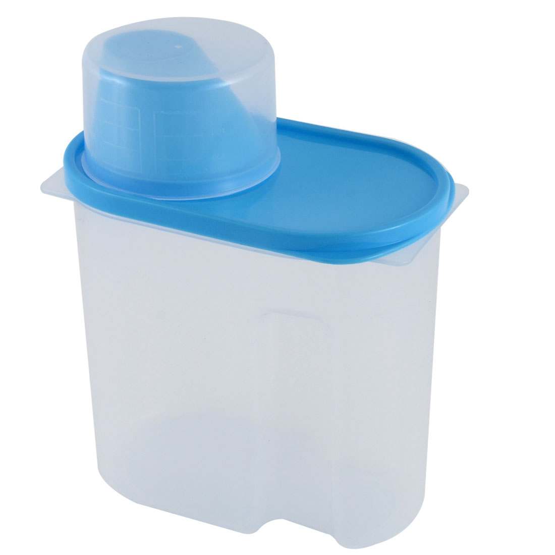 Household Kitchenware Plastic Food Storage Box Airtight Seal Container Blue