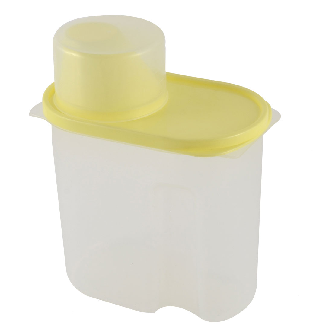 Household Kitchenware Plastic Food Storage Box Airtight Seal Holder Container Yellow