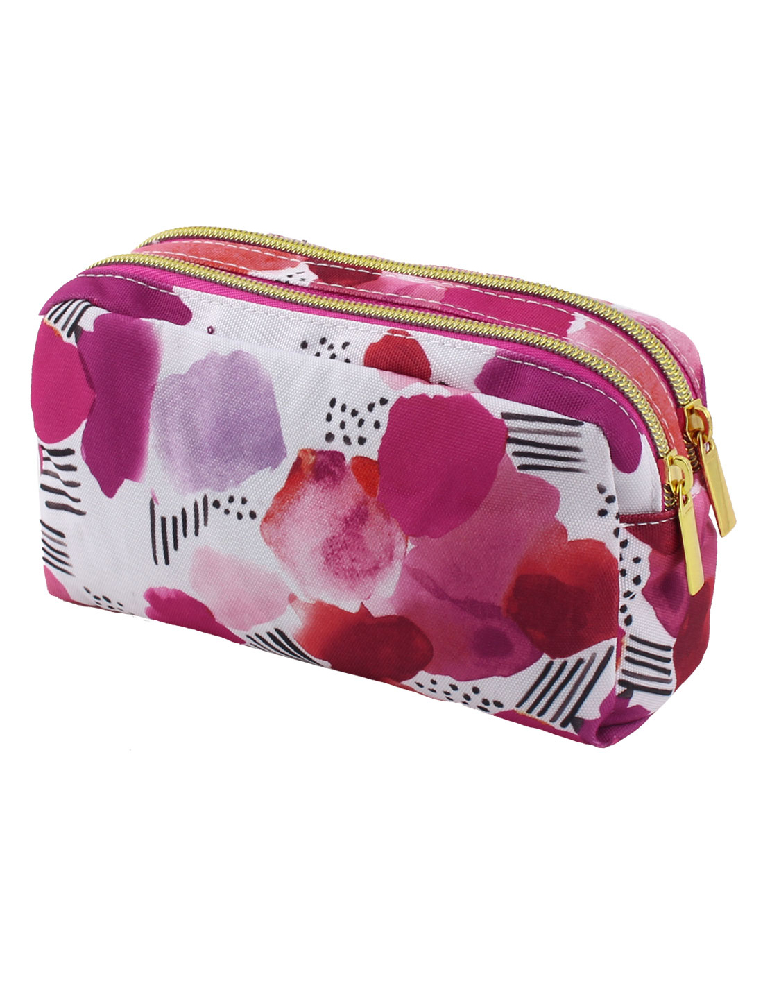 Lady Multifunction Travel Cosmetic Bag Makeup Pouch Toiletry Case Pink