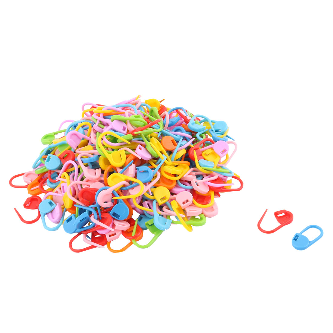 School Office Tailor Sewing Art Crafts Safety Pins Assorted Colors 270pcs