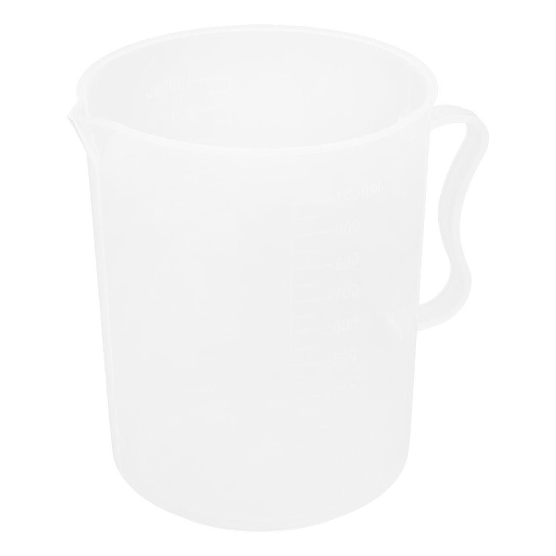 1000mL School Laboratory Liquid Container Volume Measuring Cup Beaker