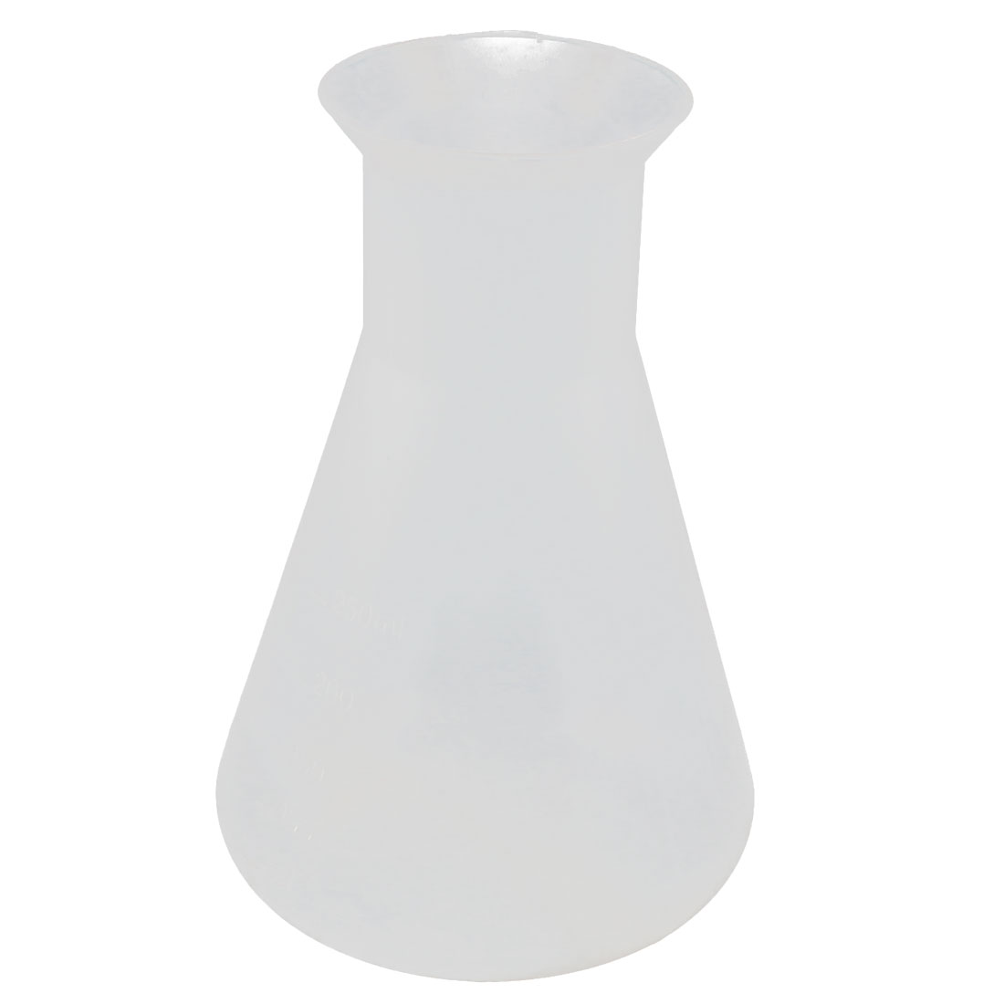 250ML Chemistry Course Plastic Narrow Mouth Solution Measuring Erlenmeyer Flask