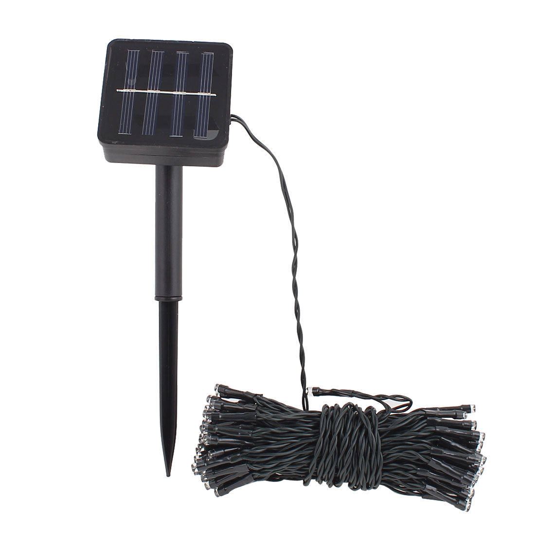 100 LED Warm White Solar Power String Light Outdoor Garden Party Home Decor Lamp 12 Meters