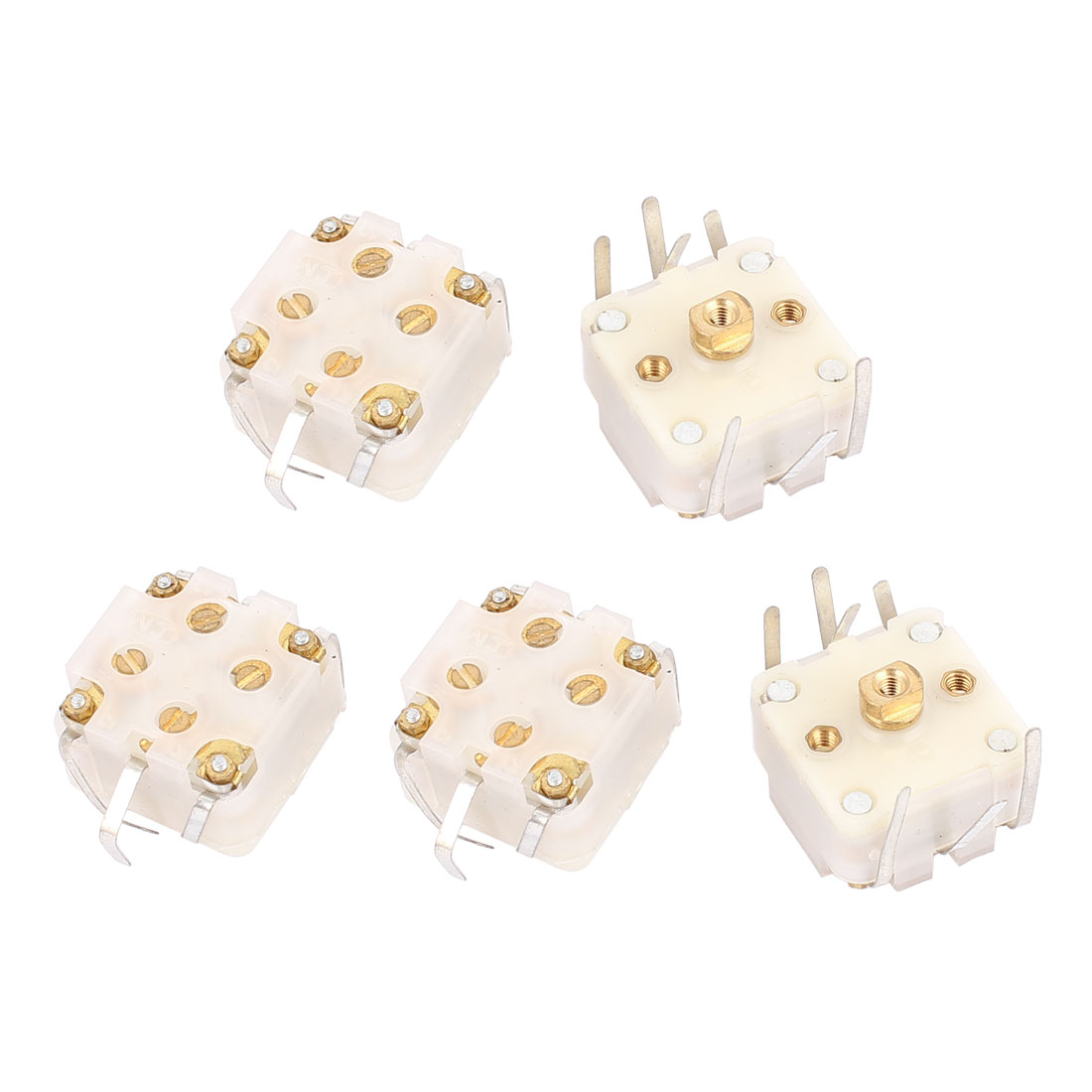 5 Pcs 443DF 20-126pF Medium Variodencer Adjustable Capacitor for Radio
