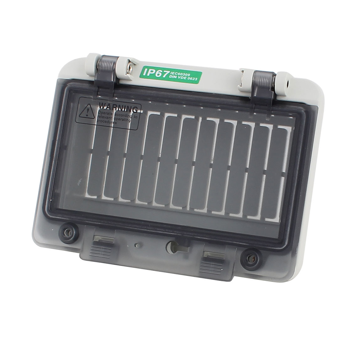 Plastic Waterproof Clear 6 Position Distribution Box Switch Cover for Circuit Breaker