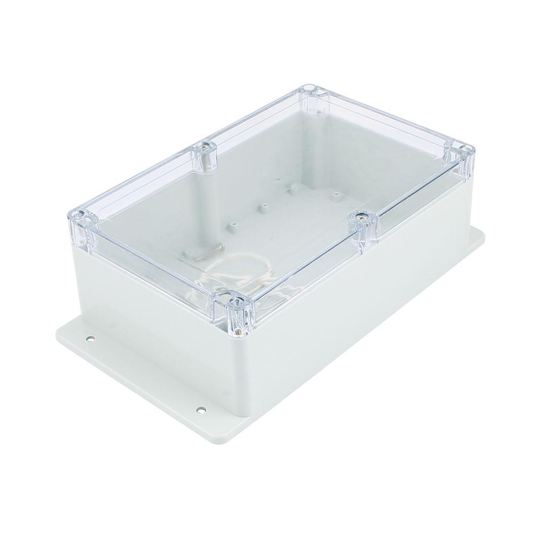 Dustproof IP65 Junction Box DIY Terminal Connect Enclosure Adaptable 222mm x 142mm x 78mm