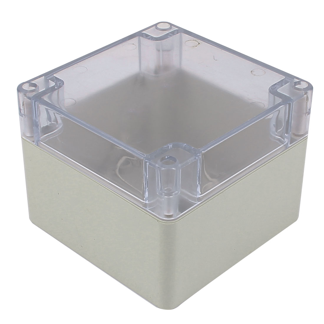 120mm x 120mm x 90mm Clear Cover Dustproof IP65 Enclosure Case DIY Junction Box