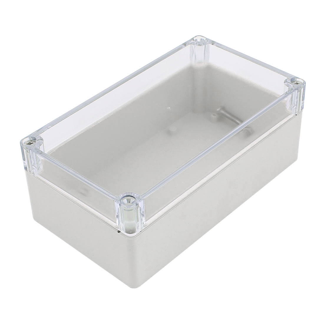 158mm x 90mm x 60mm Clear Cover Dustproof IP65 Enclosure Case DIY Junction Box