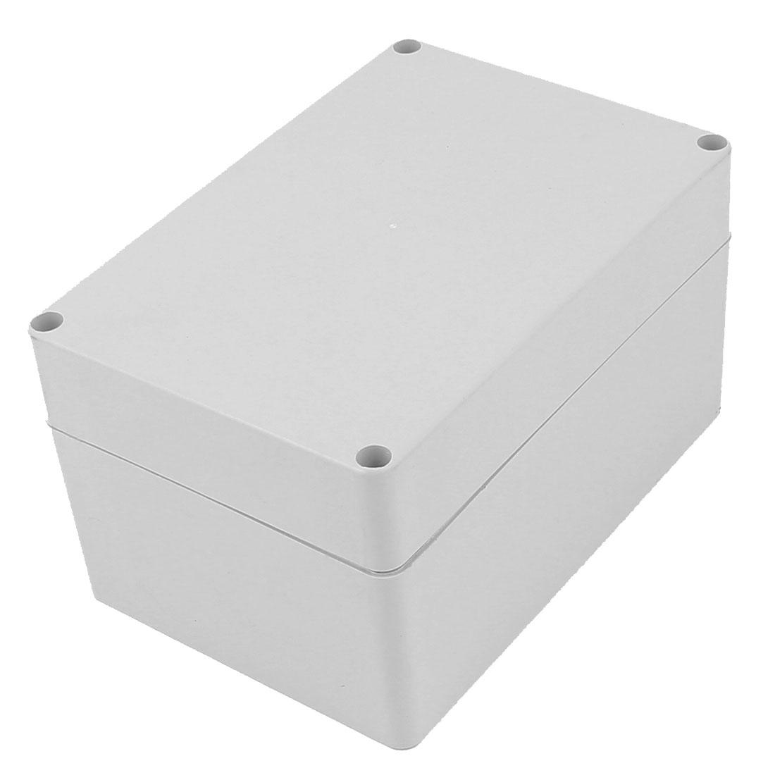 160mm x 110mm x 90mm Rectangular Dustproof IP65 Plastic DIY Junction Box Case