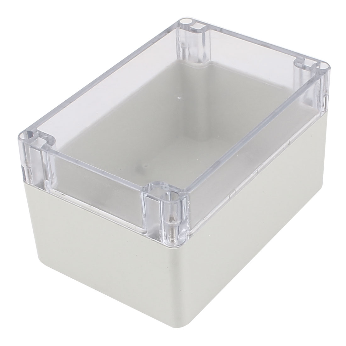 160mm x 110mm x 90mm Clear Cover Dustproof IP65 Enclosure Case DIY Junction Box