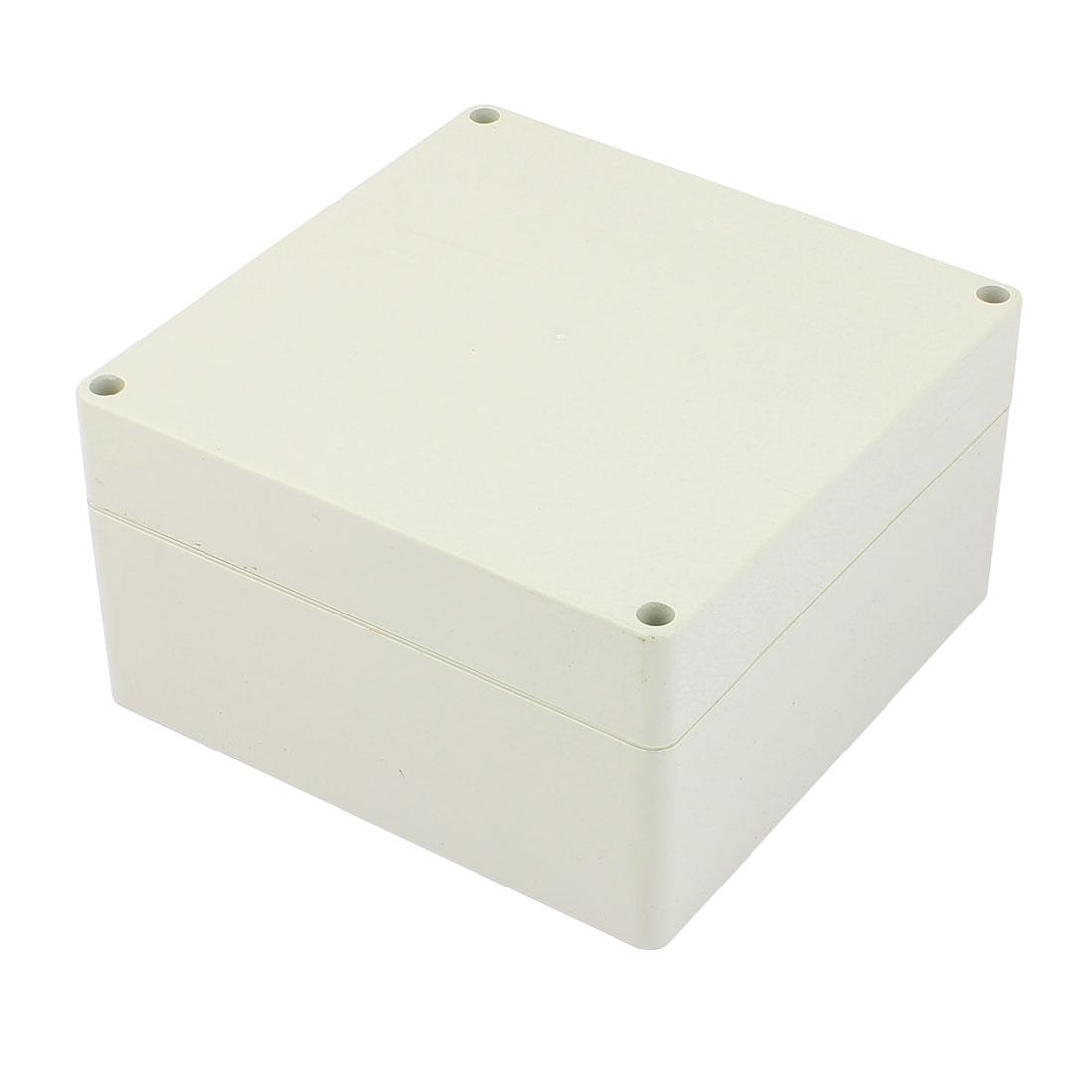 160mm x 160mm x 90mm Rectangular Dustproof IP65 Plastic DIY Junction Box Case