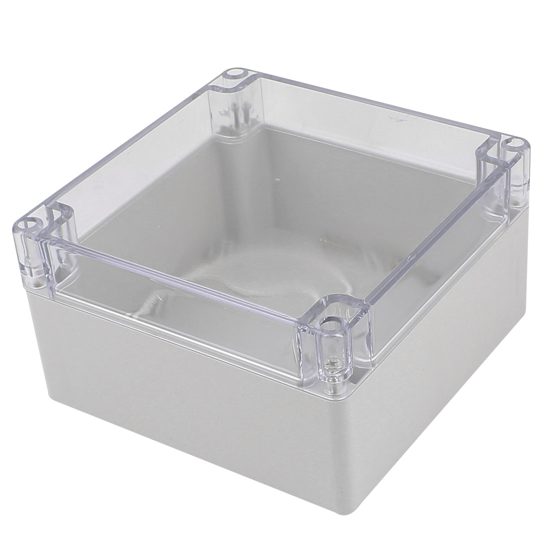 160mm x 160mm x 90mm Clear Cover Dustproof IP65 Enclosure Case DIY Junction Box