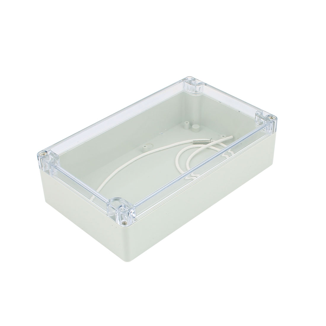200mm x 120mm x 56mm Clear Cover Dustproof IP65 Enclosure Case DIY Junction Box